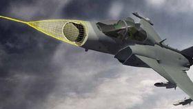 Gripen E utrustes med en Raven ES-05 aesa-radar.