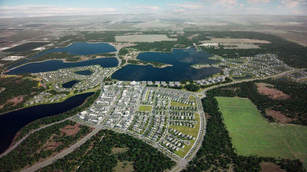 Kloss oppå et naturreservat, planlegges USAs første by kun drevet av solenergi. I hvert fall om dagen.