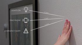 Med Knocki kan du bruke veggen, bordet eller andre overflater til å kontrollere en lang rekke smarte enheter.