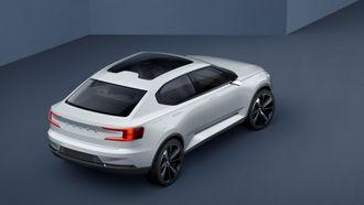 Volvo-konseptet 40.2 er ventet å danne grunnlaget for Polestar 2, som blir den første rene elbilen under Volvo-paraplyen.