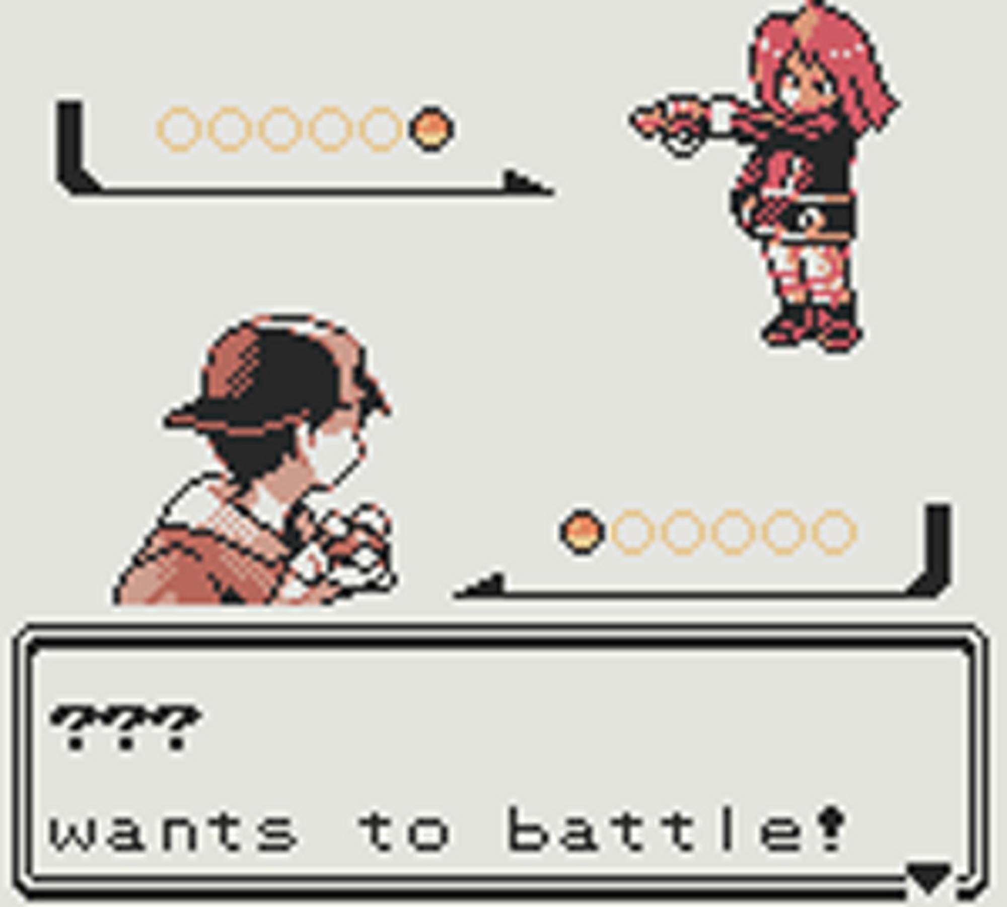 Rødhåringen er ivrig på å teste deg i kamp.