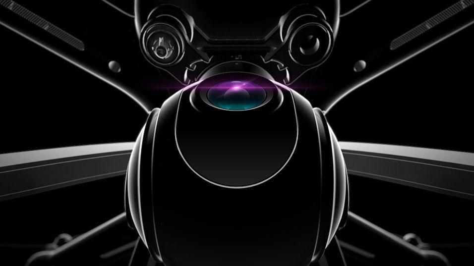 Slik ser dronen ut på Xiaomis teaser-bilde.