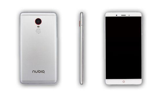 Telefonen har et enkelt design, der fronten vekker desidert mest oppmerksomhet.