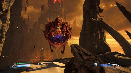 Det nye Doom-spillet vet hva fansen vil ha. Stikkord: kuler og demoner.