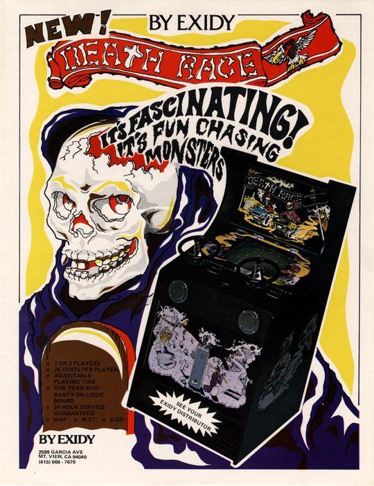I Death Race fra 1976 fikk man poeng for å kjøre over troll – som var til forveksling like mennesker. Ikke rart det ble oppstyr.