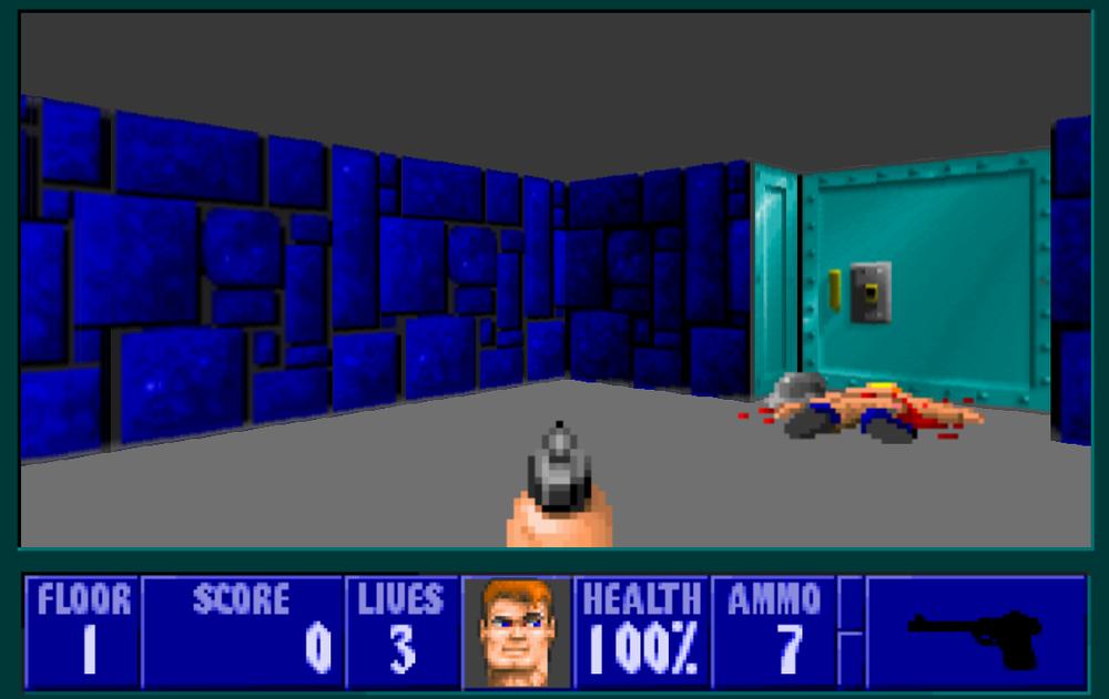 Wolfenstein 3D gjør spillerne mer aggressive, hevder forskerne.