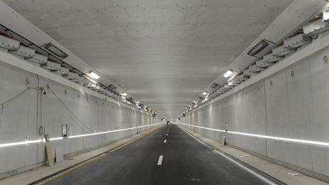 Smestadtunnelen igjen åpen