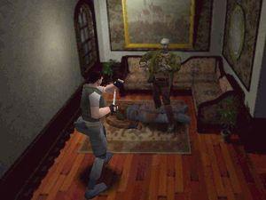 Vi tenkte ikke over det da, men Resident Evil har rimelig håpløst stemmeskuespill.