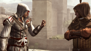 Roger Craig Smith skildrer Ezio Auditore da Firenze i Assassin's Creed-serien.