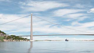 Animasjon: Slik ser Vegvesenet for seg Norges lengste bru