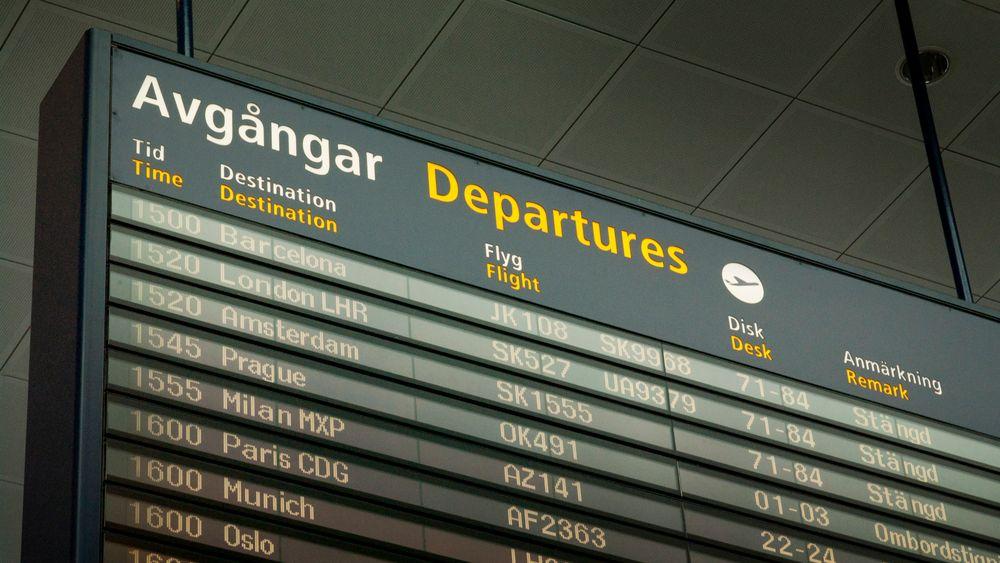 Arlanda er blant flyplassene som har testet det norske systemet.