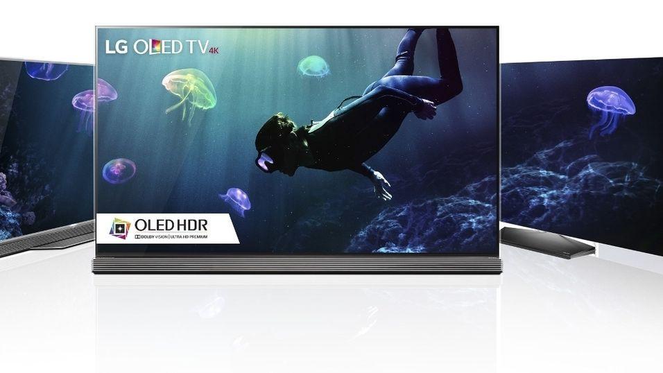 LGs nye 4K-OLED-modeller.