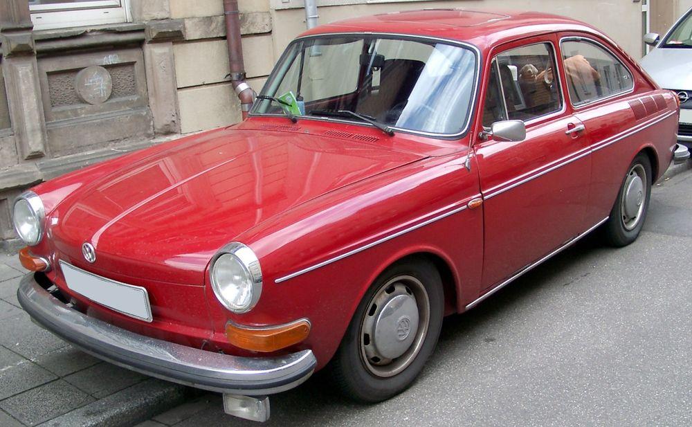 VW 1600 var den første bilen med innsprøytning fra Bosch som standardutstyr.