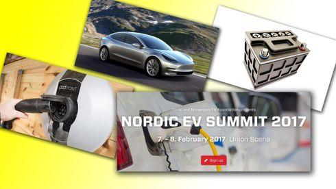TU skal arrangere Nordens største elbil-konferanse