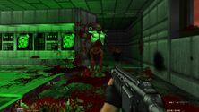 Selvfølgelig har moddere begynt å gjenskape  nye  Doom i  gamle  Doom