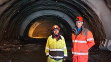 Første tunnel i løsmasser