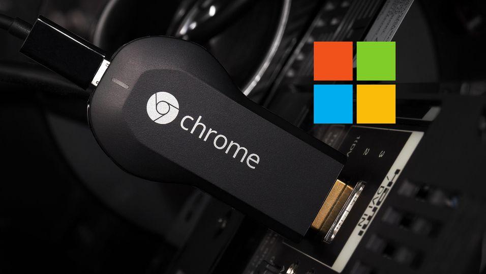 RYKTE: Chromecast kan få to solide utfordrere fra Microsoft
