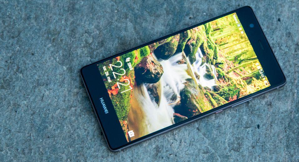 Huawei jobber visstnok med et Android-alternativ. Dette er selskapet nye P9 Plus-modell.