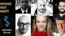 Kokker og artister går sammen mot kreft