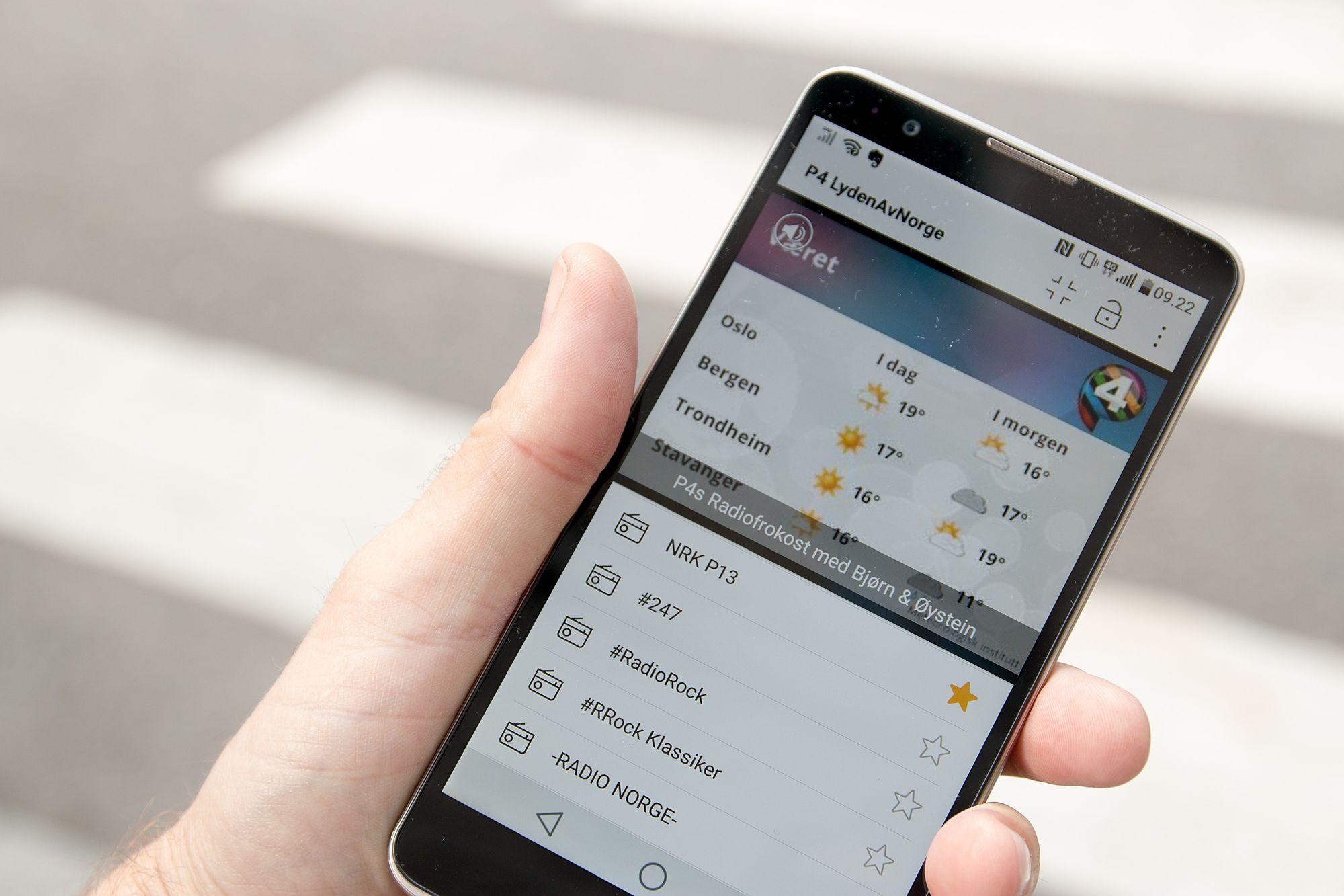 sende visittkort smart telefon