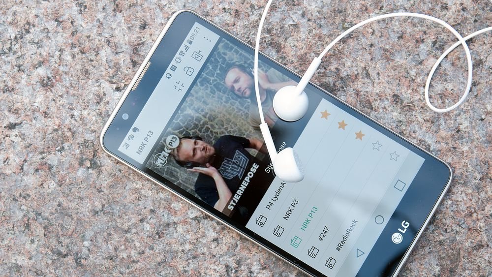 LG Stylus 2. Øreproppene som følger med bør du kaste, og heller investere i noe med god lyd.