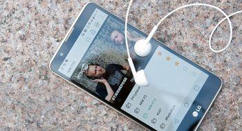 Test: LG Stylus 2 har DAB-radio og TV