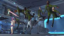 Den nye Goat Simulator-utvidelsen peker nese til Star Citizen, Star Wars og Mass Effect