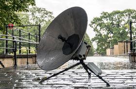 Forsvarets nye satellitt-terminal er tiltenkt avdelinger med kort reaksjonstid.