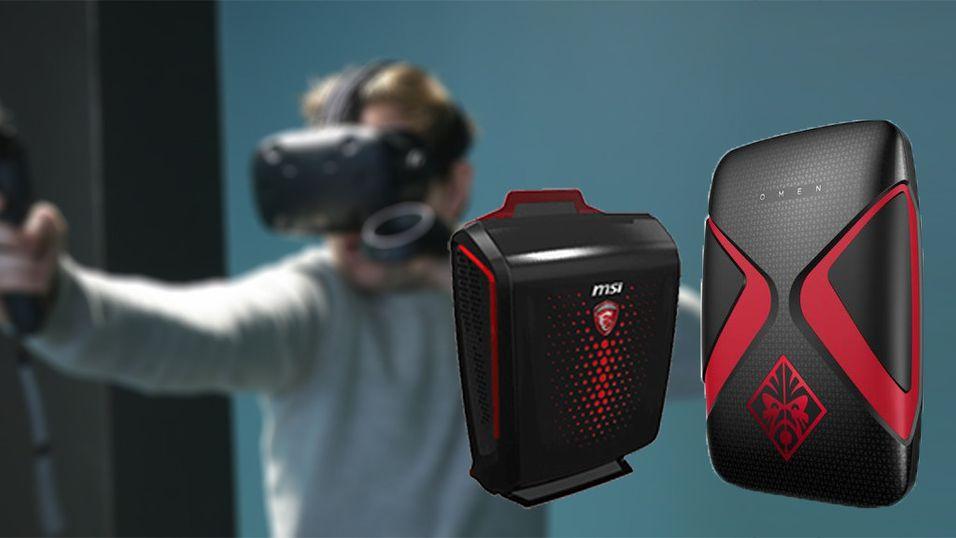 Nå kommer ryggsekk-PC-ene for VR