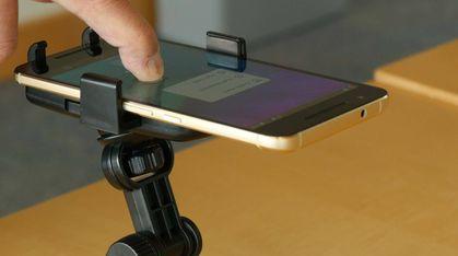 Ny teknologi kan gjøre din gamle mobilskjerm  trykk -følsom