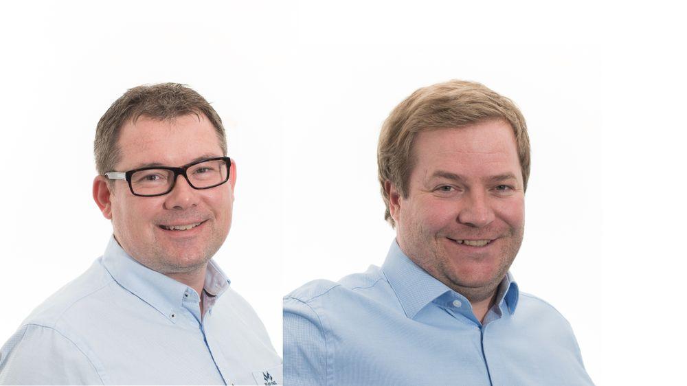 Arne-Petter Mæland og Børge Markussen