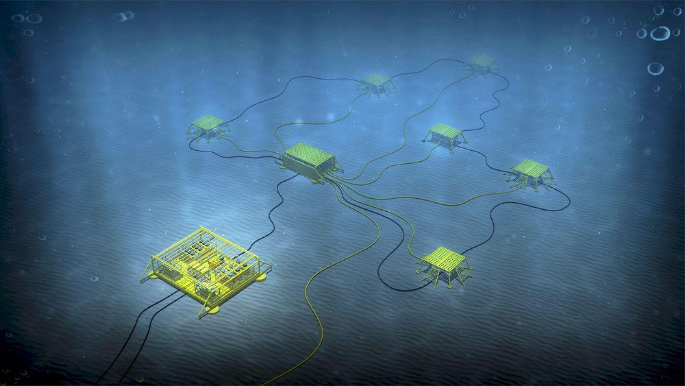Gasskompresjonssystemer på havbunnen