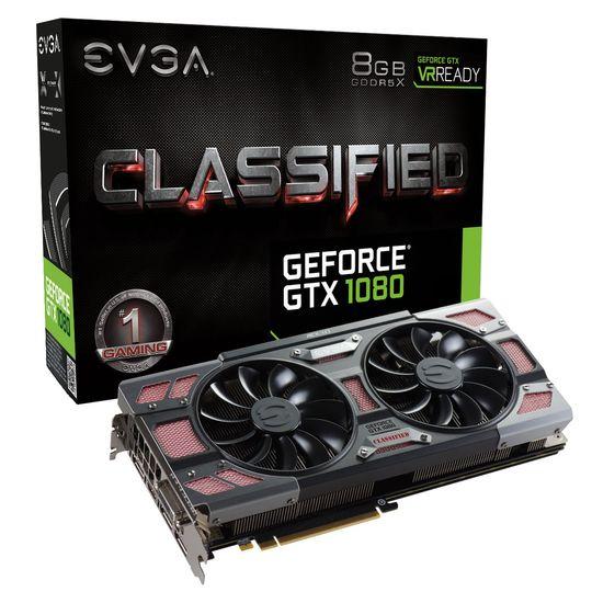EVGA GeForce GTX 1080 Classified ACX 3.0.