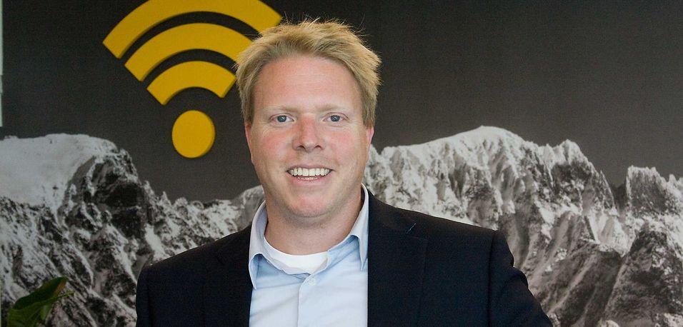 Ice-sjef Eivind Helgaker er glad for å kunne fortelle at selskapet solgte 50.000 nye abonnementer i april og mai. Han forteller at markedsmaskineriet har godt moment og at selskapet tar markedsandeler.