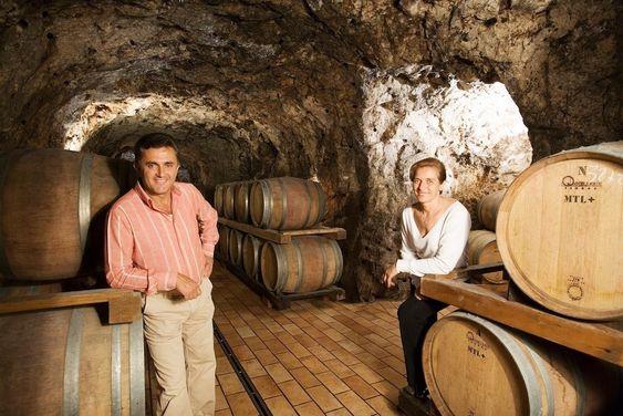 Det er Andrea Ferraioli og Marisa Cuomo som lager disse fantastiske vinene.