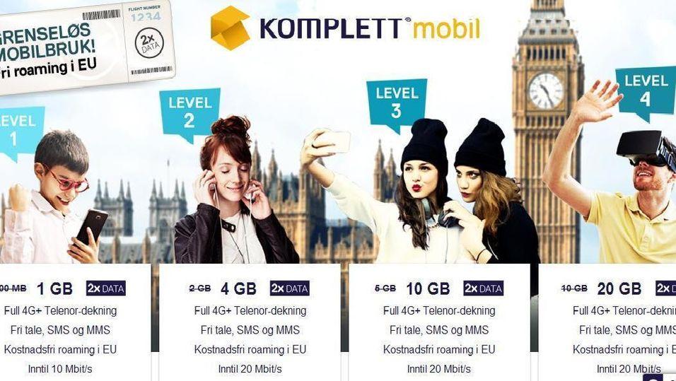 Norges største nettbutikk for forbrukerelektronikk, Komplett.no, blir mobiloperatør.