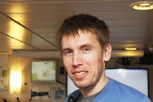 Professor Martin Ludvigsen leder Amos-prosjektet Autonome ubemannede farkoster og operasjoner.