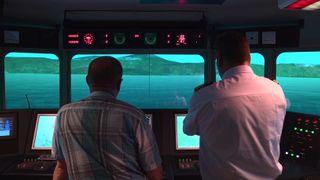Her tester de Stad skipstunnel i simulator - nå må den tegnes om