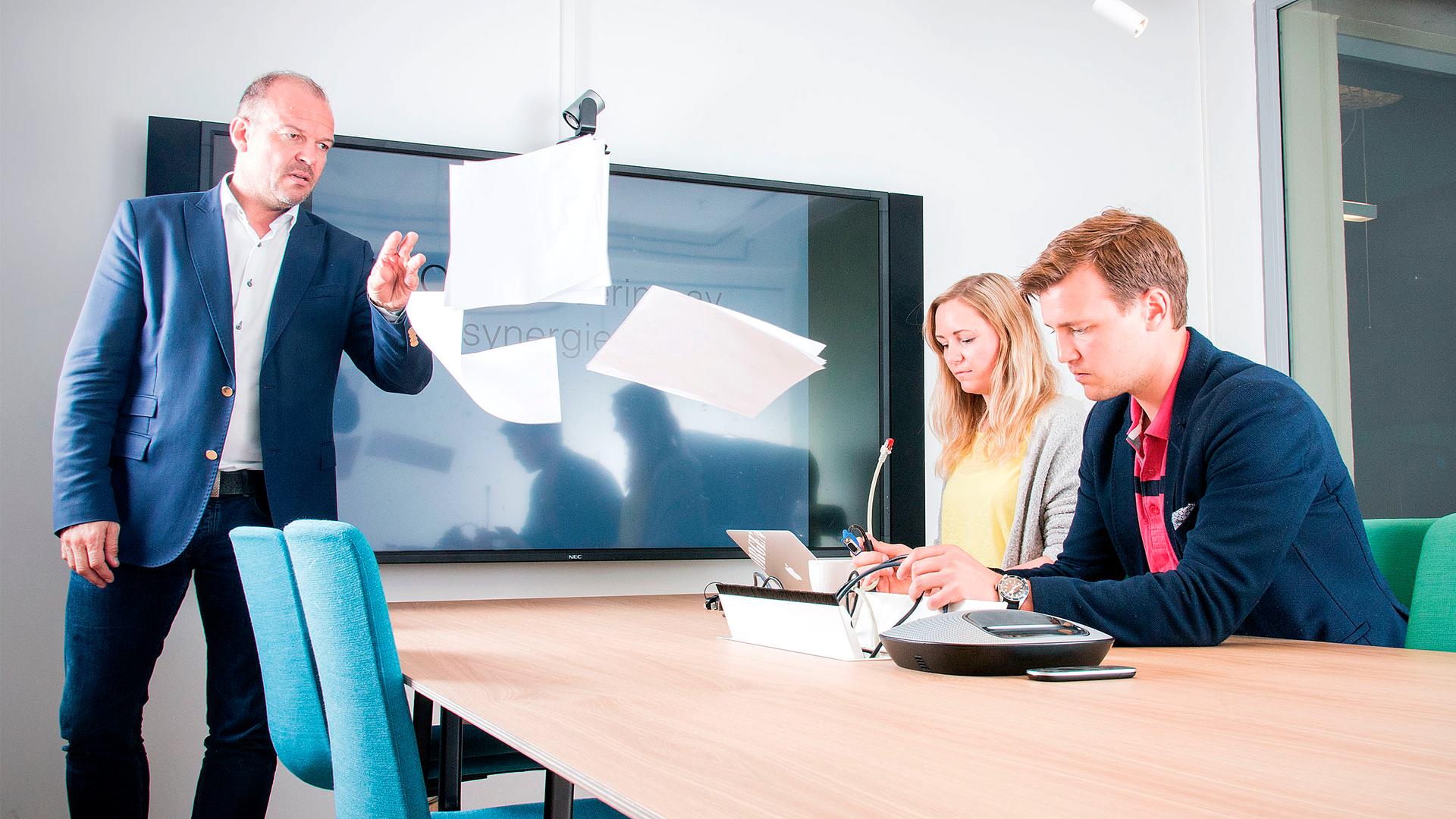ANNONSE: Bli med inn på møterommet der alt bare fungerer