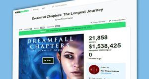 Kickstarter har samla inn over fire milliardar kroner til spel