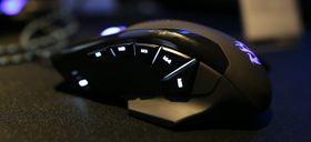 Datamusa er utstyrt med flere makrotaster på siden.