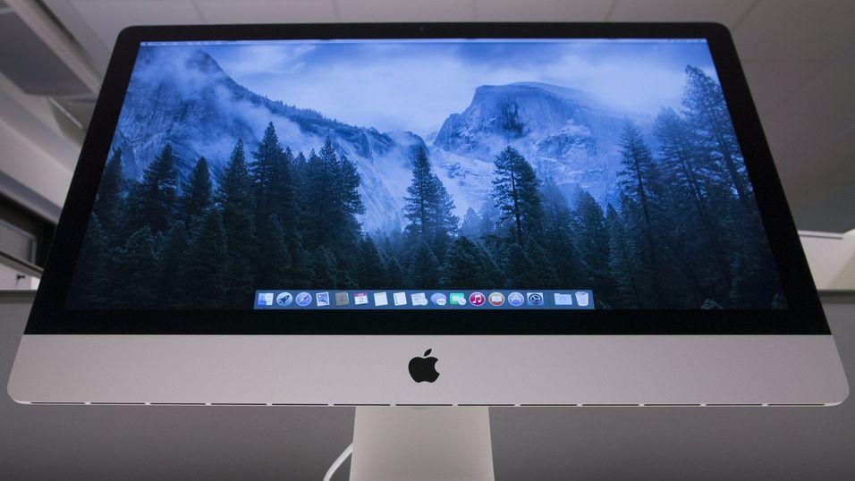 Apple har allerede en iMac med 5K-oppløsning, så hvorfor ikke en separat skjerm?