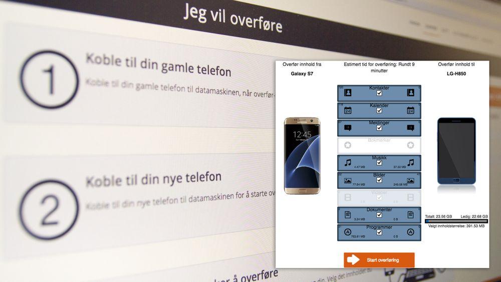 SNIKTITT: Ny, norsk tjeneste skal gjøre det enklere å bytte mobil