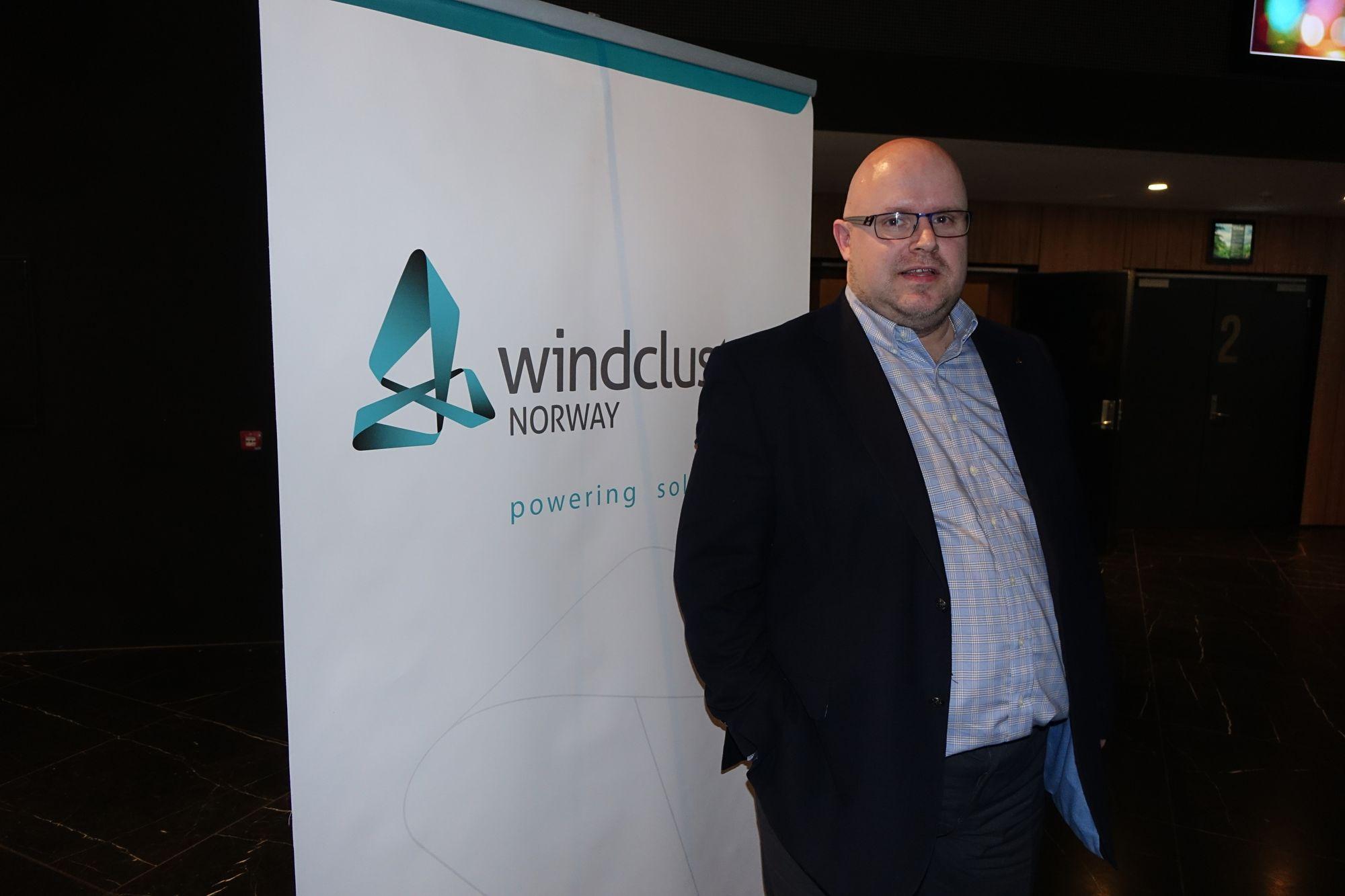 Kristian Holm mener de nye vindkraftprosjektene blir det viktigste automatiseringsprosjektet i Norge. Foto: Statkraft.