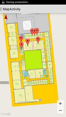 SmartRescue-app-en bruker Google maps og gir en god oversikt over brannsituasjonen.