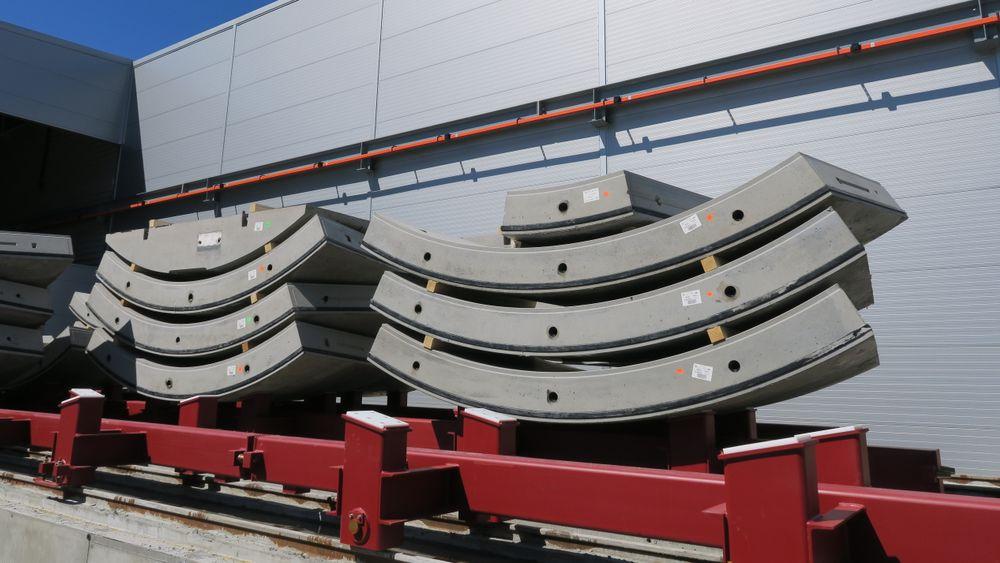 Follobanen skal kles med 140.000 betongelementer