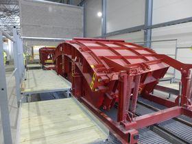 144 spesialkonstruerte støpeformer skal brukes for å produsere de 140.000 betongelementene til Follobanetunnelen.