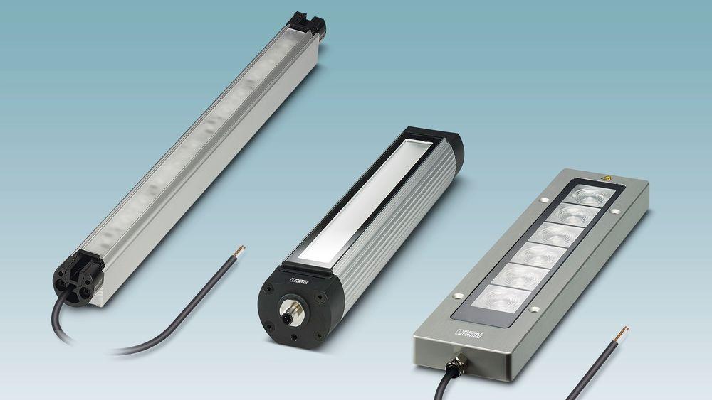 LED maskinlamper fra Phoenix Contact