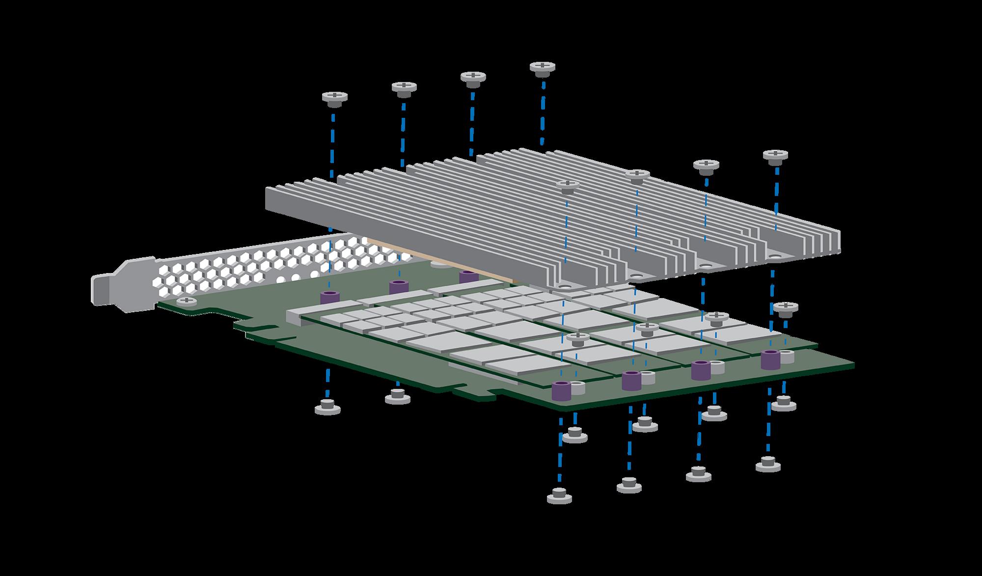 Den nye Nytro-SSD-en slik den ble skissert våren 2016.