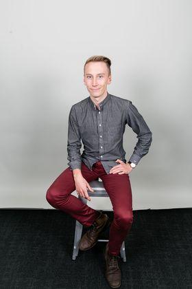 Kristoffer Vik Hansen har vært med og grunnlagt samkjøringstjenesten Spare Rides.(Foto:Britney Gill)